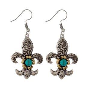 ⭐️COMING SOON⭐️Fleur de Lisa earrings